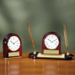Desk Clock - Domed Employee Awards