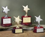 Star with Piano Finish Base Series Employee Awards