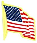 American Flag Pin Patriotic Awards